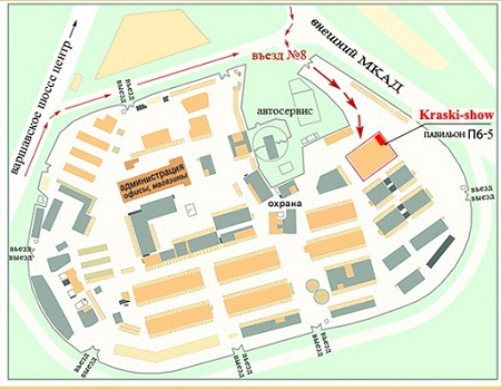 Увеличьте нажатием и распечатайте схему территории.  Сантех-деталь на территории Каширского двора-3.